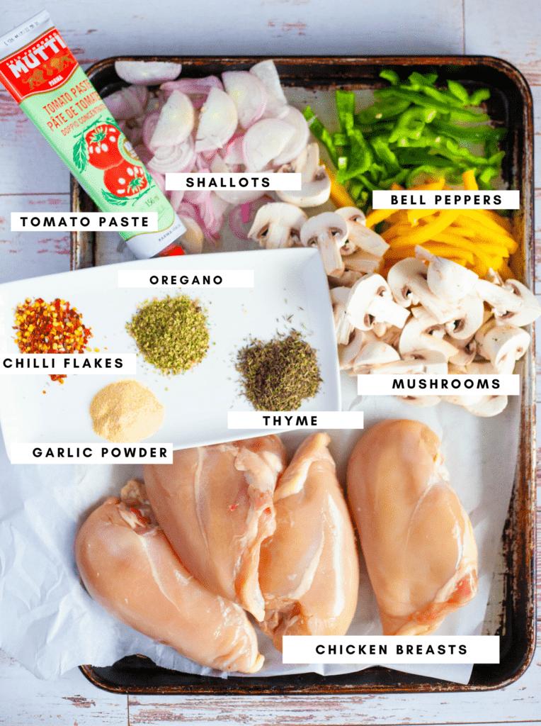 Weeknight Skillet Chicken Cacciatore