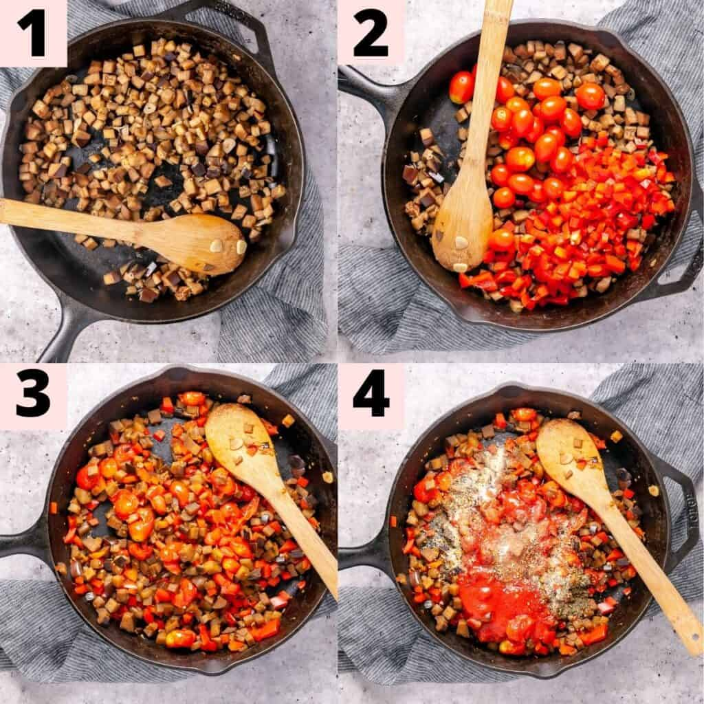 Step by step instructions to prepare pasta sauce